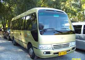 vehicle of Beijing join in tour