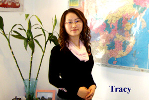 Tracy of Beijingservice team