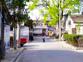 Beijing Hutong photo