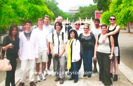 Beijing join in tour travelers photo