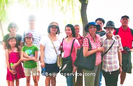 travelers of join in tour Beijing